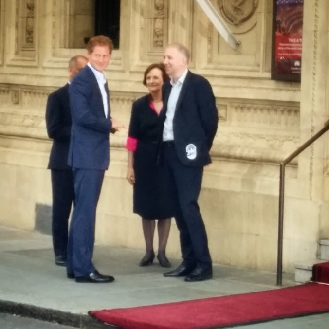 Prince Harry Royal Albert Hall
