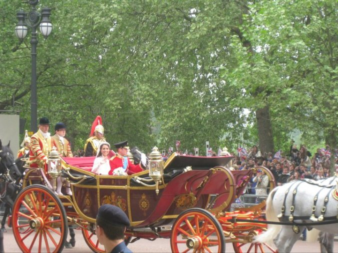 Royal Wedding Carriage Kate and William
