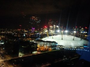 Emirates Air Line Night View