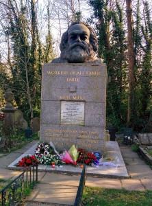 Highgate Cemetary - Karl Marx